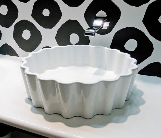 Doppio zero by Ceramica Flaminia | Wash basins