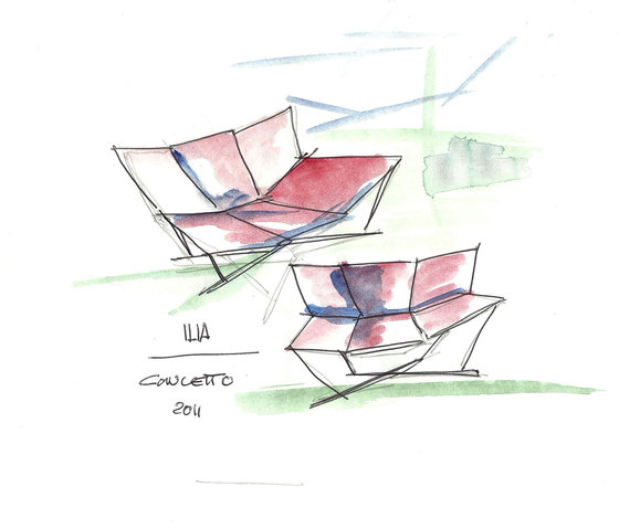 Concetto by Erba Italia | Lounge chairs