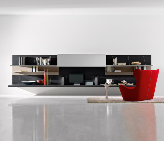 Pab 05 by B&B Italia | Wall storage systems