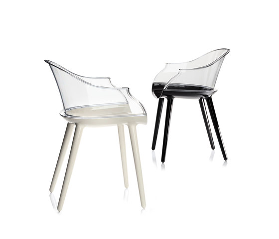Cyborg Chair by Magis | Visitors chairs / Side chairs