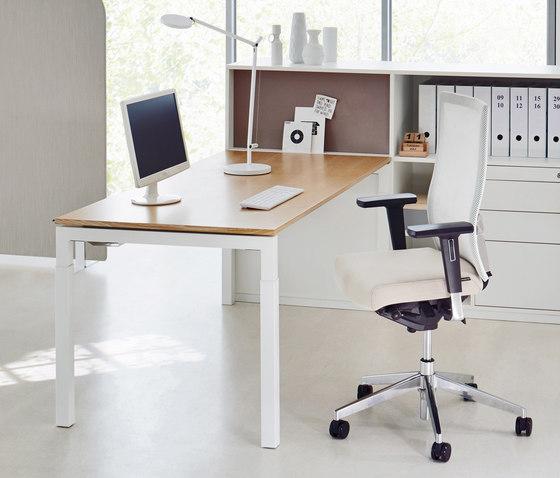 U4 Series Desk di ophelis | Scrivanie individuali