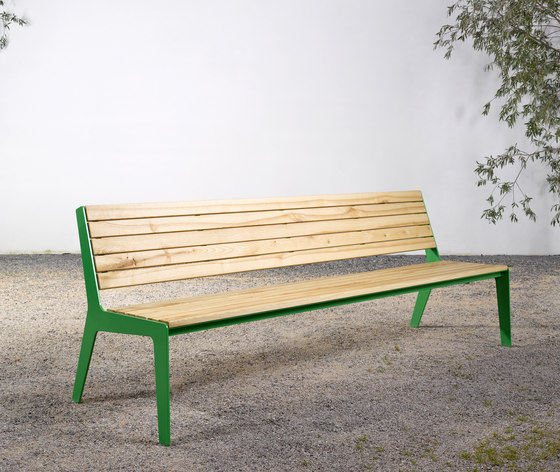 Bench on_08 by Silvio Rohrmoser | Garden benches
