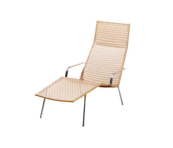 Straw Chaiselongue by Cane-line | Chaise longues