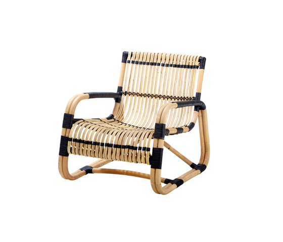 Curve Lounge Chair von Cane-line | Sessel