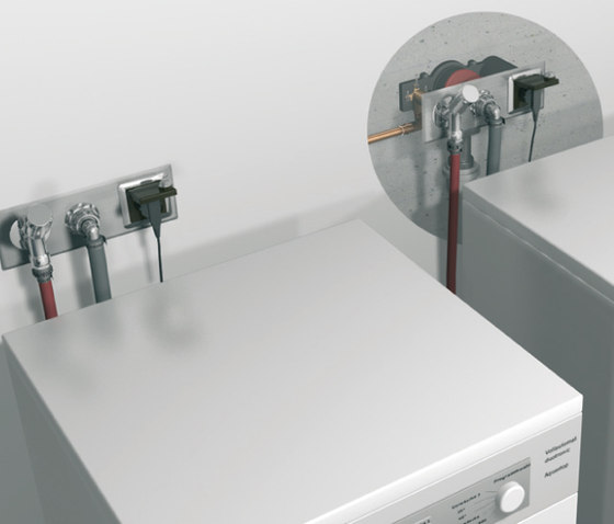 Washing machine/dishwasher traps by DALLMER | Plate drains