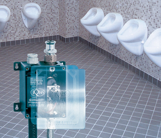 iQ 145 - the intelligent urinal control by DALLMER | Plate drains