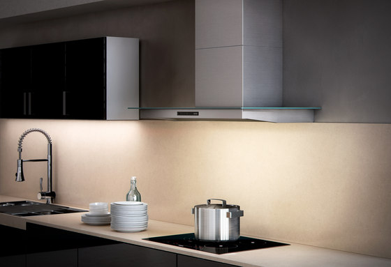 Wall-mounted hood BWH GL by Berbel | Extractors