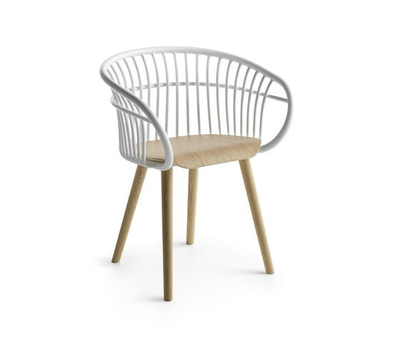Stem P/4W de Crassevig | Chaises de restaurant