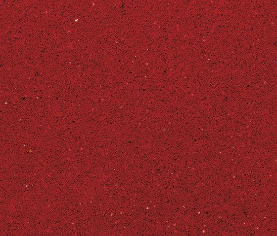 Silestone Rojo Eros de Cosentino | Compuesto mineral planchas