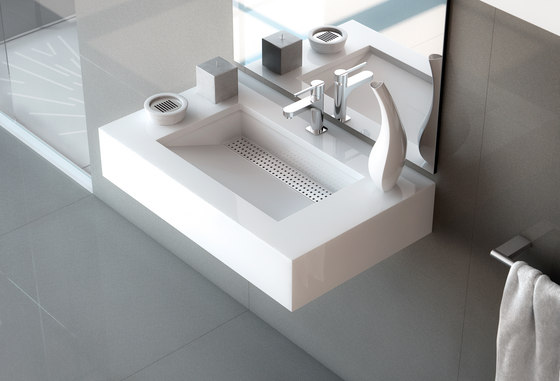 Silestone Bath Collection Simplicity by Cosentino | Wash basins