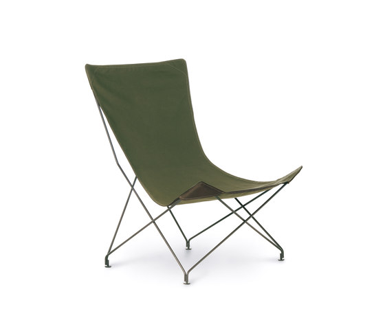 LAWRENCE 390 lounge chair by Roda | Garden armchairs