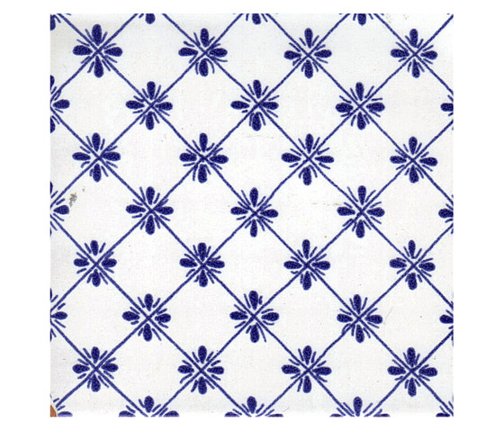 Tradizione rete di la riggiola rete blu e stelline rete - La riggiola piastrelle ...