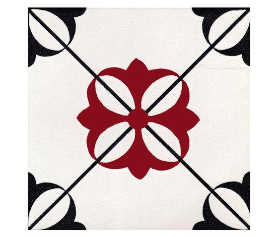 LR 258 Rosso Nero by La Riggiola | Floor tiles