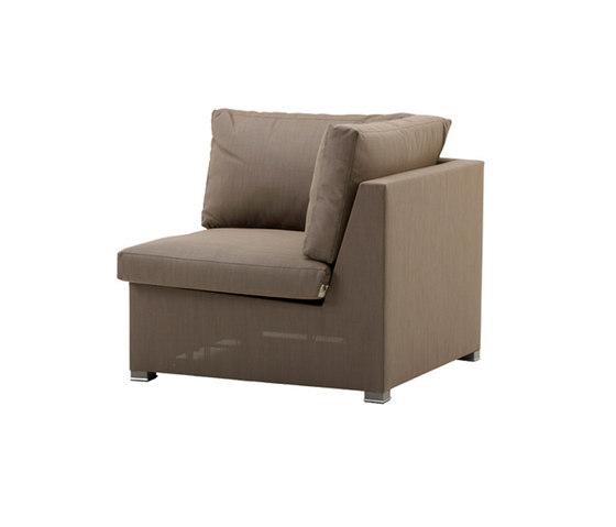 Shape Corner module by Cane-line | Garden armchairs