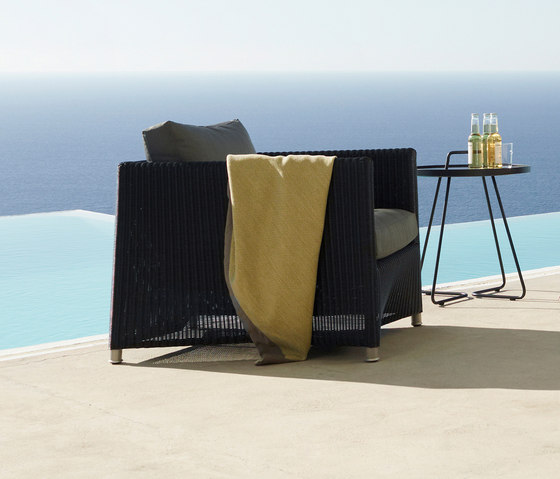 Diamond Lounge Chair Weave by Cane-line | Garden armchairs