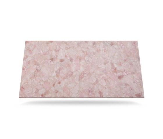 Prexury Rose Quarz di Cosentino | Lastre minerale composito