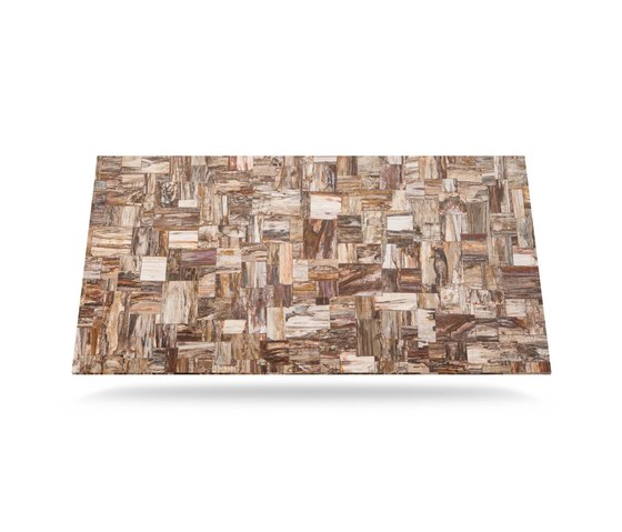 Prexury Retro Petrified Wood by Cosentino | Mineral composite panels