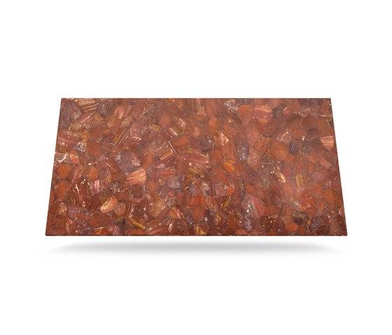 Prexury Red Jasper by Cosentino | Mineral composite panels