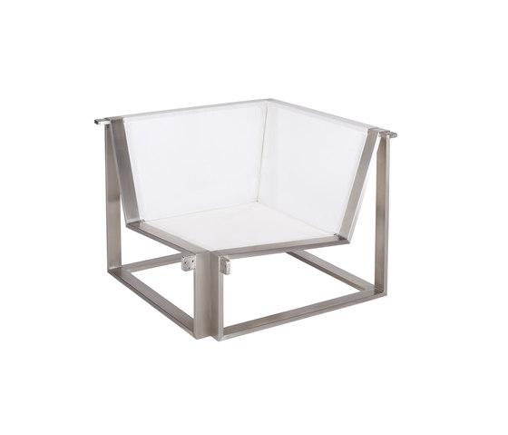Cima Lounge Esquina Corner Unit by FueraDentro | Garden armchairs