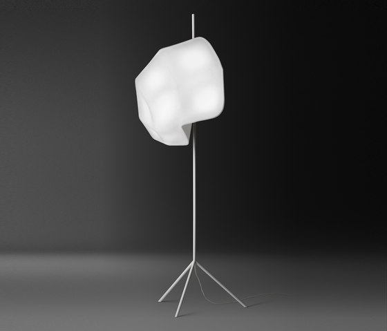 Glory floor lamp by Vibia | Floor lamps in textiles