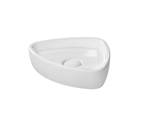 Starck 1 - Washbowl grinded by DURAVIT   Wash basins