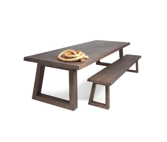 Slide Dining Table Charcoal de Odesi | Mesas para restaurantes