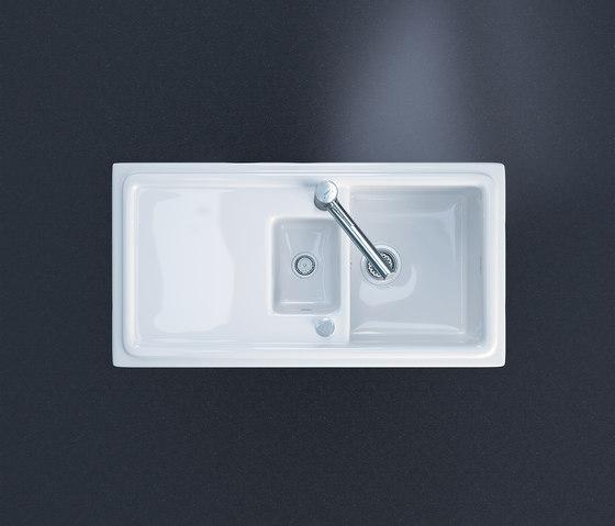 Cassia by DURAVIT | Kitchen sinks