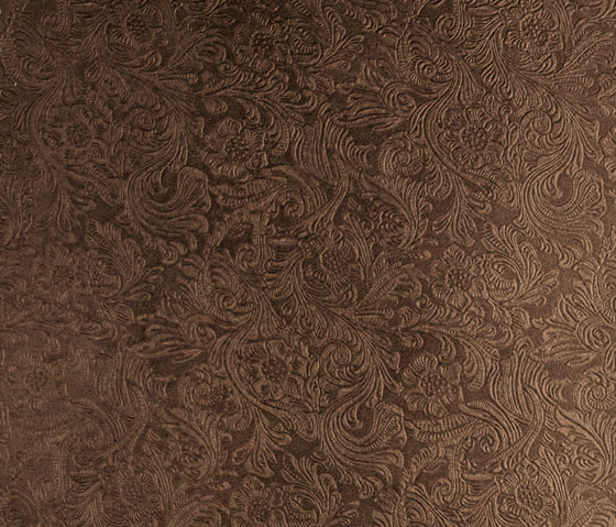 Tactile Moresco Damasco by Nextep Leathers | Leather tiles
