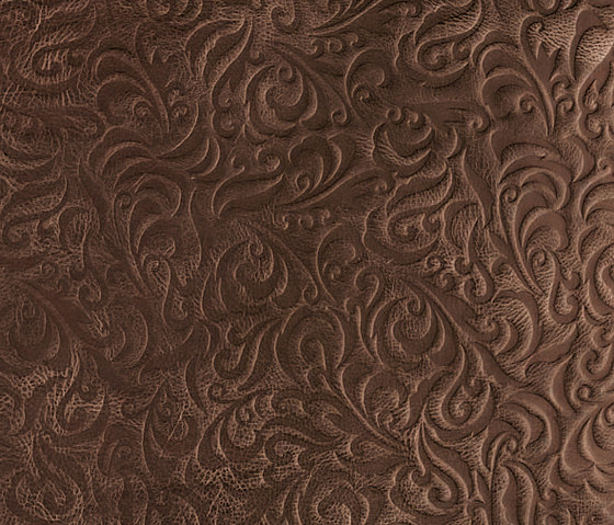 Tactile Moresque lily by Nextep Leathers | Leather tiles