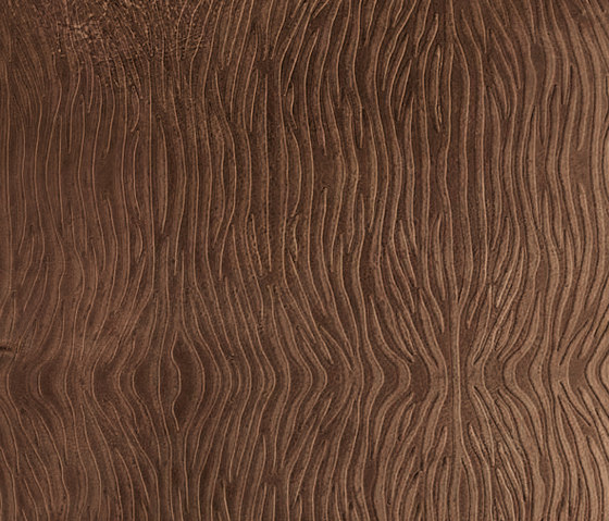 Tactile Moresque zebra by Nextep Leathers | Natural leather wall tiles