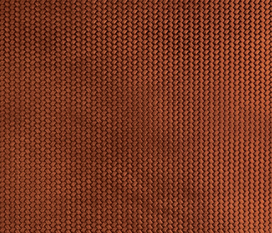 Tactile Mahogany braid by Nextep Leathers | Leather tiles