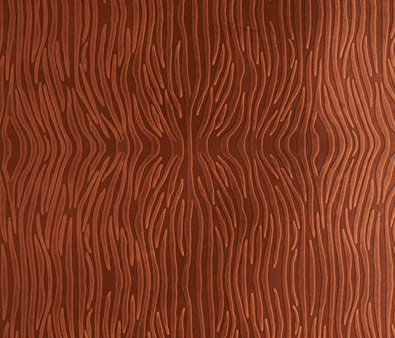 Tactile Mahogany zebra by Nextep Leathers | Leather tiles