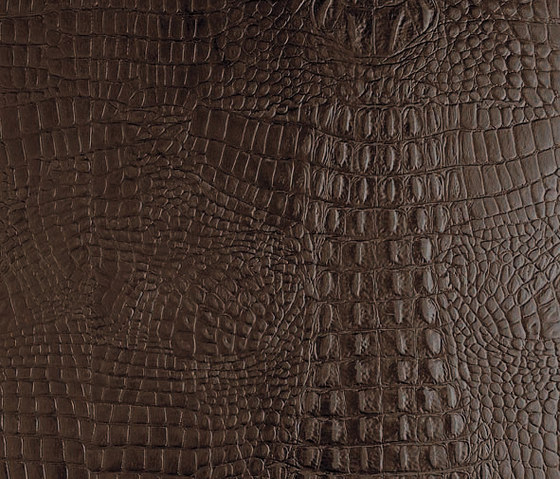 Tactile Choco cayman by Nextep Leathers | Leather tiles