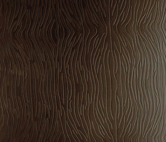 Tactile Choco zebra by Nextep Leathers | Leather tiles