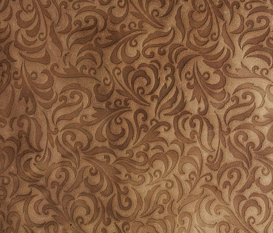 Tactile Ivory lily by Nextep Leathers | Natural leather wall tiles