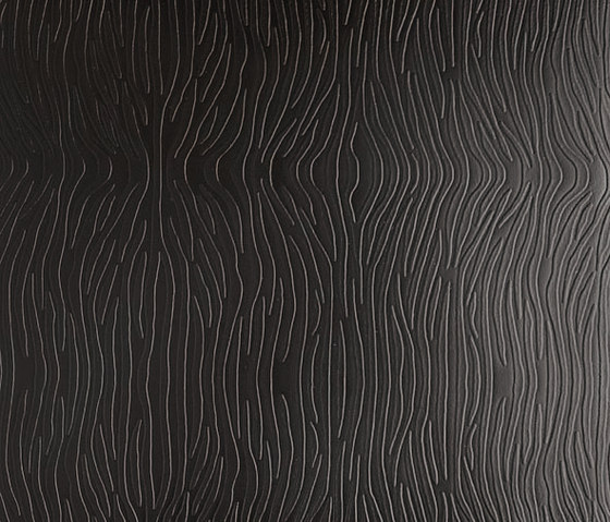 Tactile Black zebra by Nextep Leathers | Leather tiles