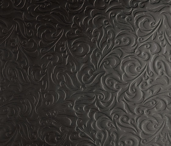Tactile Black lily by Nextep Leathers | Leather tiles