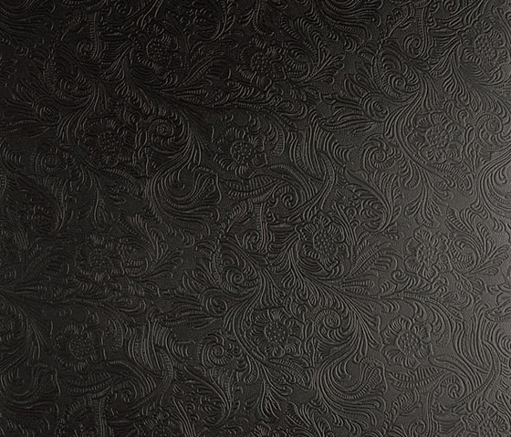 Tactile Black damask de Nextep Leathers | Carrelage