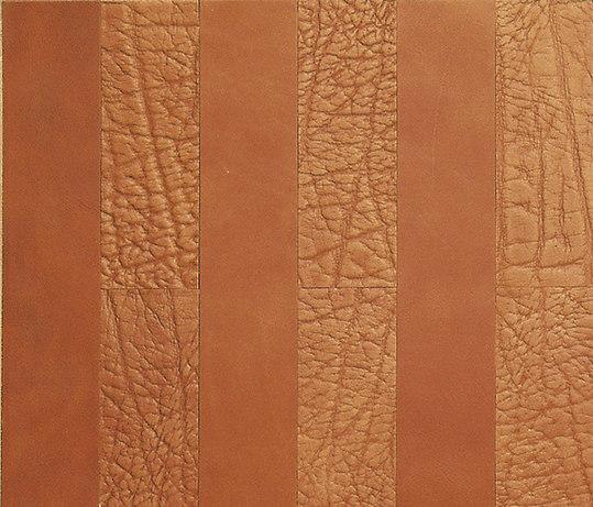 Kaleidos Boiserie Mogano di Nextep Leathers | Elementi in vera pelle per pareti