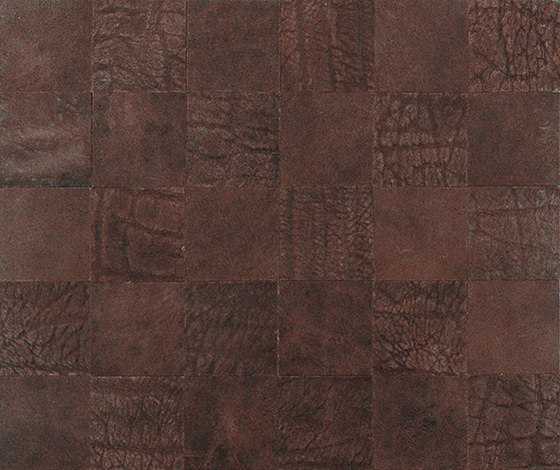 Kaleidos Mosaics moresque-elefant-chips by Nextep Leathers | Leather tiles