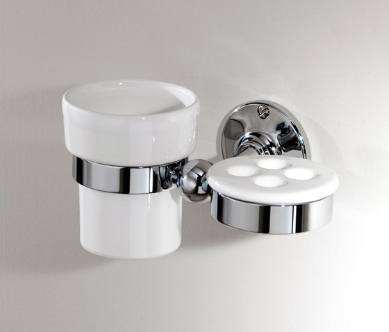 Cavendish Toothbrush and cup holder by Devon&Devon | Toothbrush holders