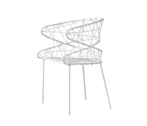 Fluxus by Tekhne | Garden chairs
