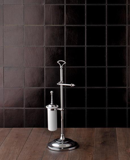 Single Freestanding toilet roll | toilet brush holder by Devon&Devon | Towel rails