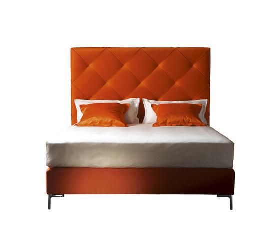 Sleeping Systems Collection Prestige | Headboard Chloé by Treca Interiors Paris | Double beds