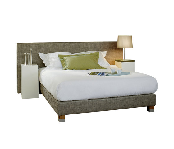 Sleeping Systems Collection Prestige | Headboard Cube wide by Treca Interiors Paris | Double beds