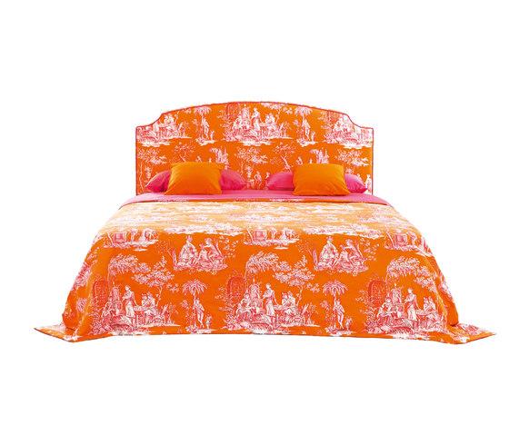 Sleeping Systems Collection Prestige | Headboard Louis XVI by Treca Interiors Paris | Double beds