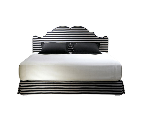 Sleeping Systems Collection Prestige | Headboard Versailles by Treca Interiors Paris | Double beds