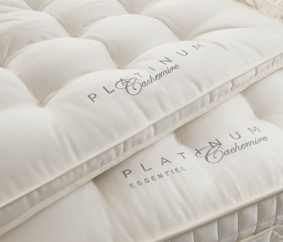 Sleeping Systems Collection Platinum | Mattress topper Cachemire by Treca Interiors Paris | Mattress toppers
