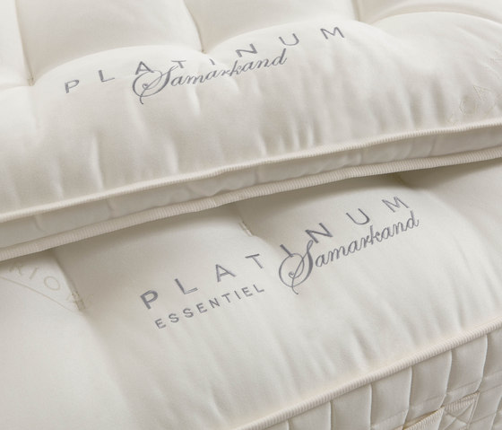 Letti Collezione Platinum | Materasso Essentiel Samarkand di Treca Interiors Paris | Materassi