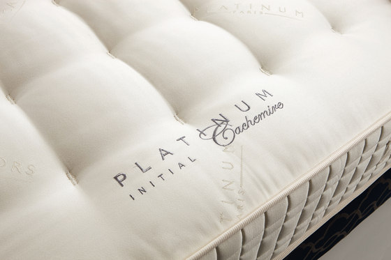 Sleeping Systems Collection Platinum | Mattress Initial Cachemire by Treca Interiors Paris | Mattresses